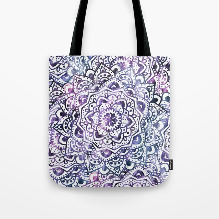 STARRY NIGHT MANDALA Tote Bag