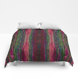Spellbinding Impasse (Bioluminescent Field) (Reflection) Comforters