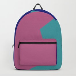 Minimalism Abstract Colors #9 Backpack