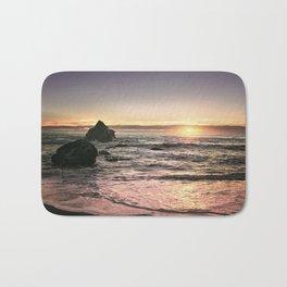 Brookings Oregon Sunset Bath Mat
