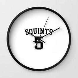 The Sandlot - Squints Jersey Wall Clock
