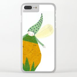 Elf one Clear iPhone Case