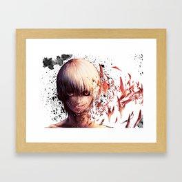 Tokyo Ghoul Ken Kaneki Framed Art Print