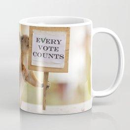squirrels vote Coffee Mug