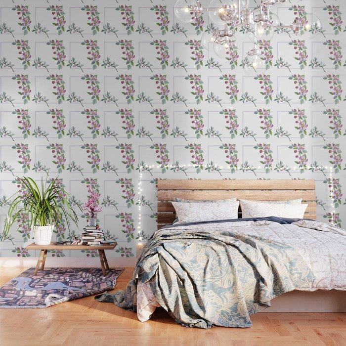 Apple Blossom Frame 01 Wallpaper