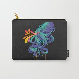 Neon Squid Carry-All Pouch