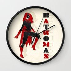 Batwoman Wall Clock