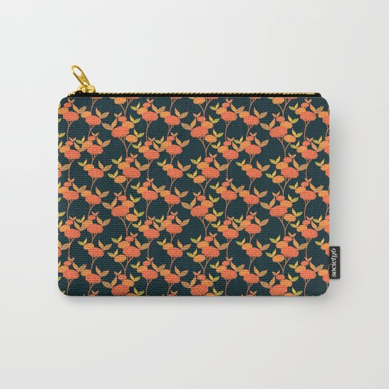 Orange berries. Carry-All Pouch