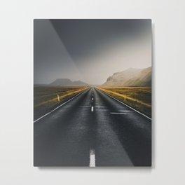 The Open Road (Color) Metal Print