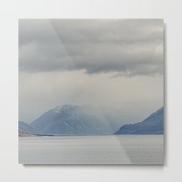 Mt Cook Likes To Hide 2 Metal Print