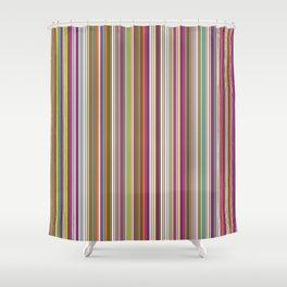 Stripes & stripes Shower Curtain