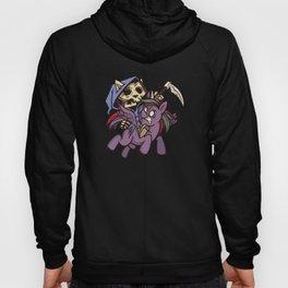 Death Apocalypse Cat Rider on Unicorn Hoody