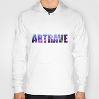 artrave Hoodies featuring artRAVE Venus by ARTPOPdesigns
