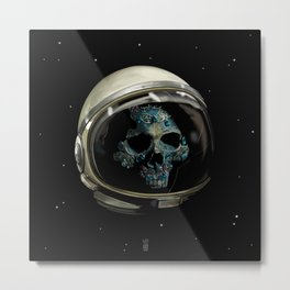 Holy Starman Skull II Metal Print