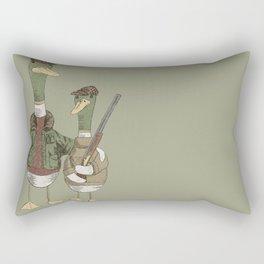Hunting Ducks Rectangular Pillow