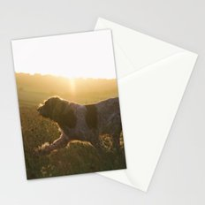 Brown Roan Italian Spinone Dog Stationery Cards
