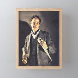 Vincent Price, Horror Actor Framed Mini Art Print
