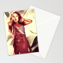 Fay Wray in King Kong Stationery Cards