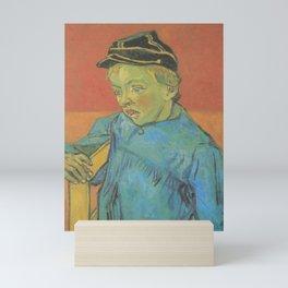 Vincent van Gogh - The Schoolboy (Camille Roulin) Mini Art Print