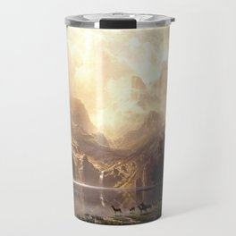 Among the Sierra Nevada, California (1868) Travel Mug