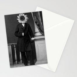 Smart Sunflower.1885. Stationery Cards