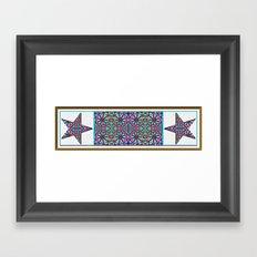 Starry Garden Framed Art Print
