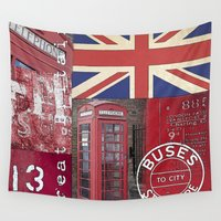 british Wall Tapestries featuring Very British by LebensART