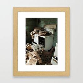 Flammable Framed Art Print