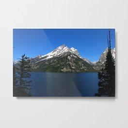 Jenny Lake - Grand Teton NP Metal Print