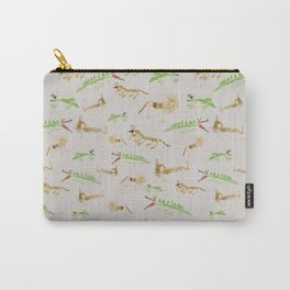 Wild Animals Child's Drawings Carry-All Pouch