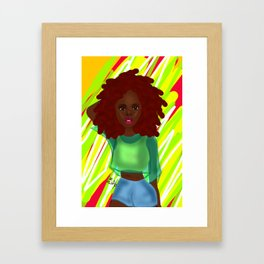 Gianna Framed Art Print