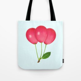 CHERRY BALLOONS Tote Bag