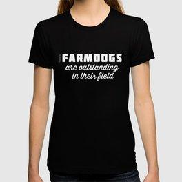 Outstanding Farmdogs T-shirt