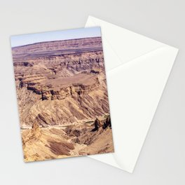 Fish River Canyon in Namibia Stationery Cards