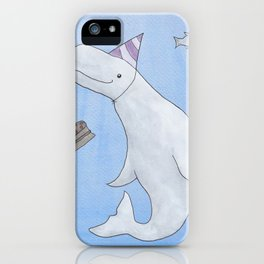 Birthday Beluga iPhone Case