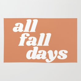 all fall days Rug