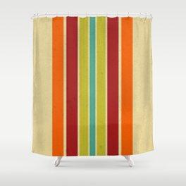 Retro 70s Color Palette III Shower Curtain