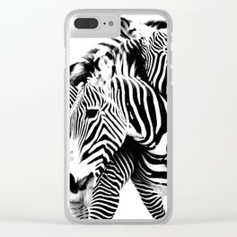 Tangled Up Clear iPhone Case