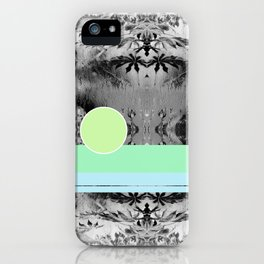 green circle iPhone Case