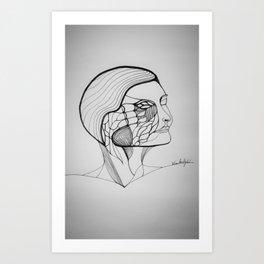 number 4 Art Print