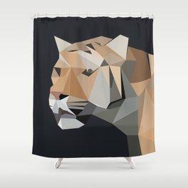 u r my tiger Shower Curtain