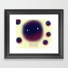 Memory Bubbles Framed Art Print