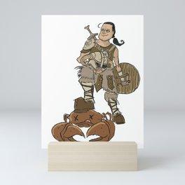 The Destroyer of mudcrab Mini Art Print