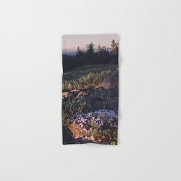 Wildflowers at Dawn - Nature Photography Hand & Bath Towel
