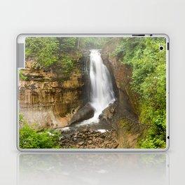 Miners Falls - Pictured Rocks Waterfall, Michigan Laptop & iPad Skin