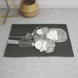 The Baudelaire orphans Rug