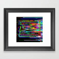 Angry Pixels Framed Art Print