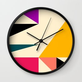 Triangled 08 Wall Clock