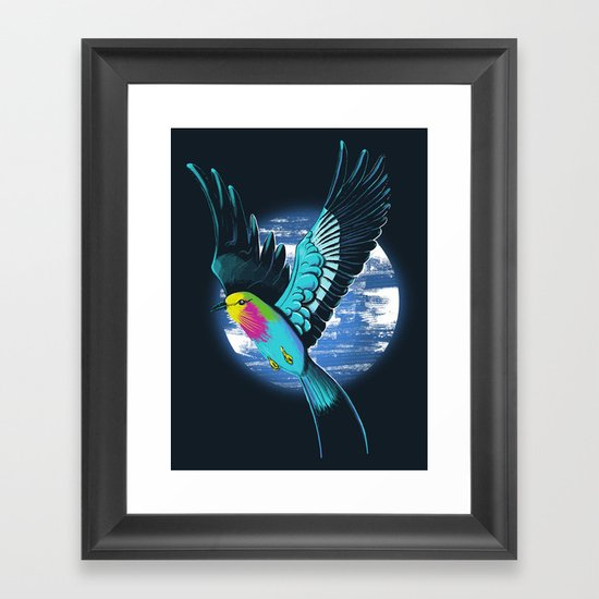 Lilac-Breasted Roller Framed Art Print