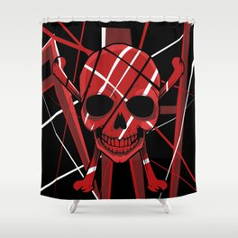 Skullet: Van Hellen Shower Curtain